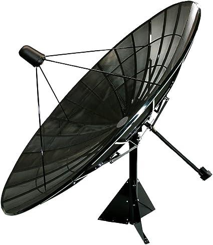 Motorizado C Antena Parabólica De Malla De Banda Ku Paquete 13 5ft Home Audio Theater