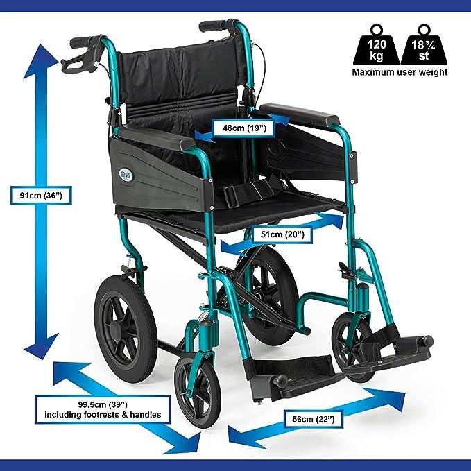 Days Escape Lite Aluminium Wheelchair image 2