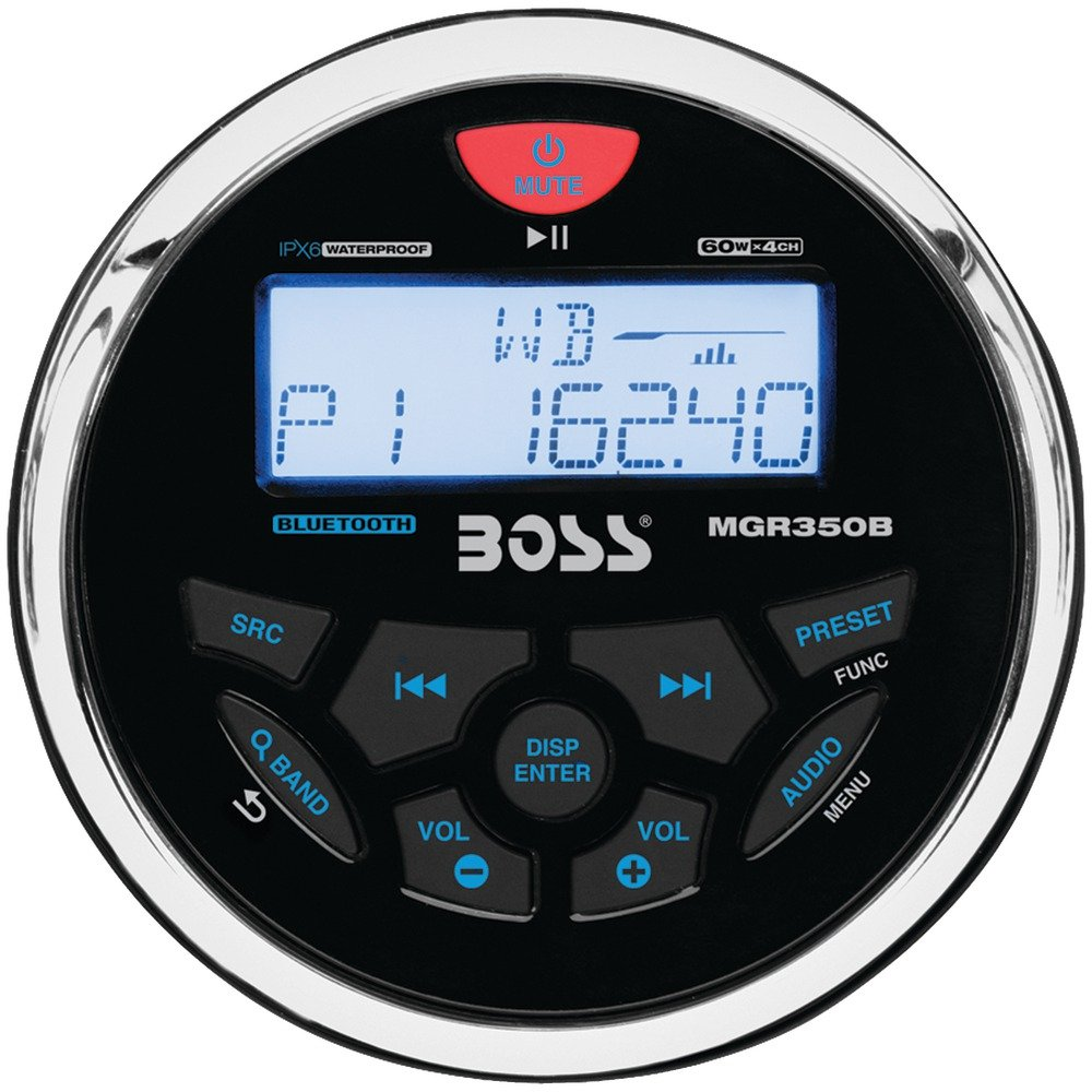Boss Audio MGR350B Boss Mp3//Am//Fm//Rds Marine BOSS AUDIO SYSTEMS
