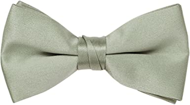 Sage 1 Tuxedo Solid Color Bow Ties for Boys