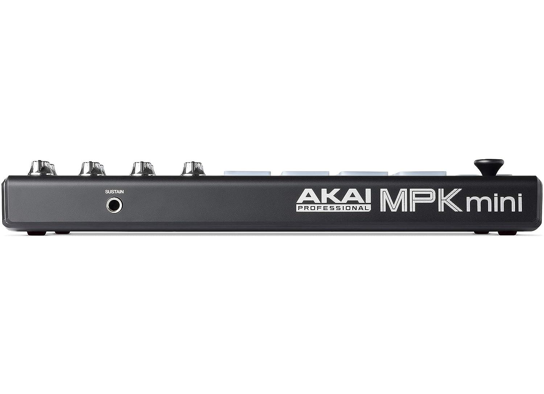 Teclado Midi Usb Akai Professional Mpk Mini Mkii Le