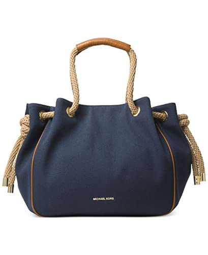 bf4f1189f4b98f Amazon.com: MICHAEL Michael Kors Dalia Large Shoulder Tote (Navy): Shoes