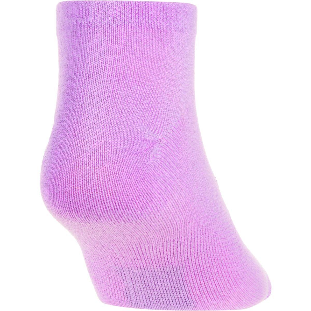 Bright Assortment Medium Under Armour Socks U226W 6 Pairs Under Armour Women`s Big Logo No-Show Socks 6 Pack Under Armour Women/'s Essential No Show Liner Socks