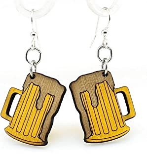 product image for Beer Mug Earrings