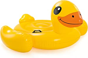 Intex Yellow Duck Inflatable Ride-On, 58