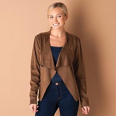 Veste marron pour femme