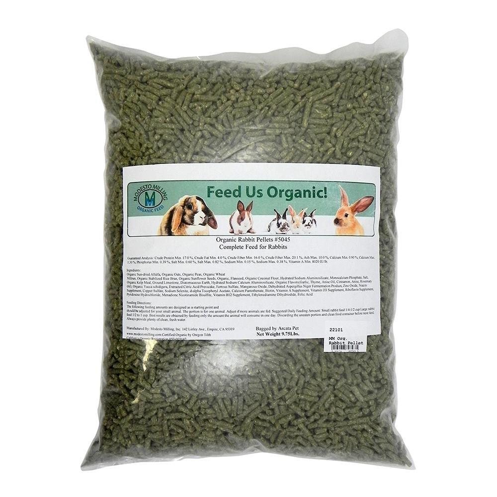 Modesto Milling Organic Rabbit Pellets 9.75Lbs.