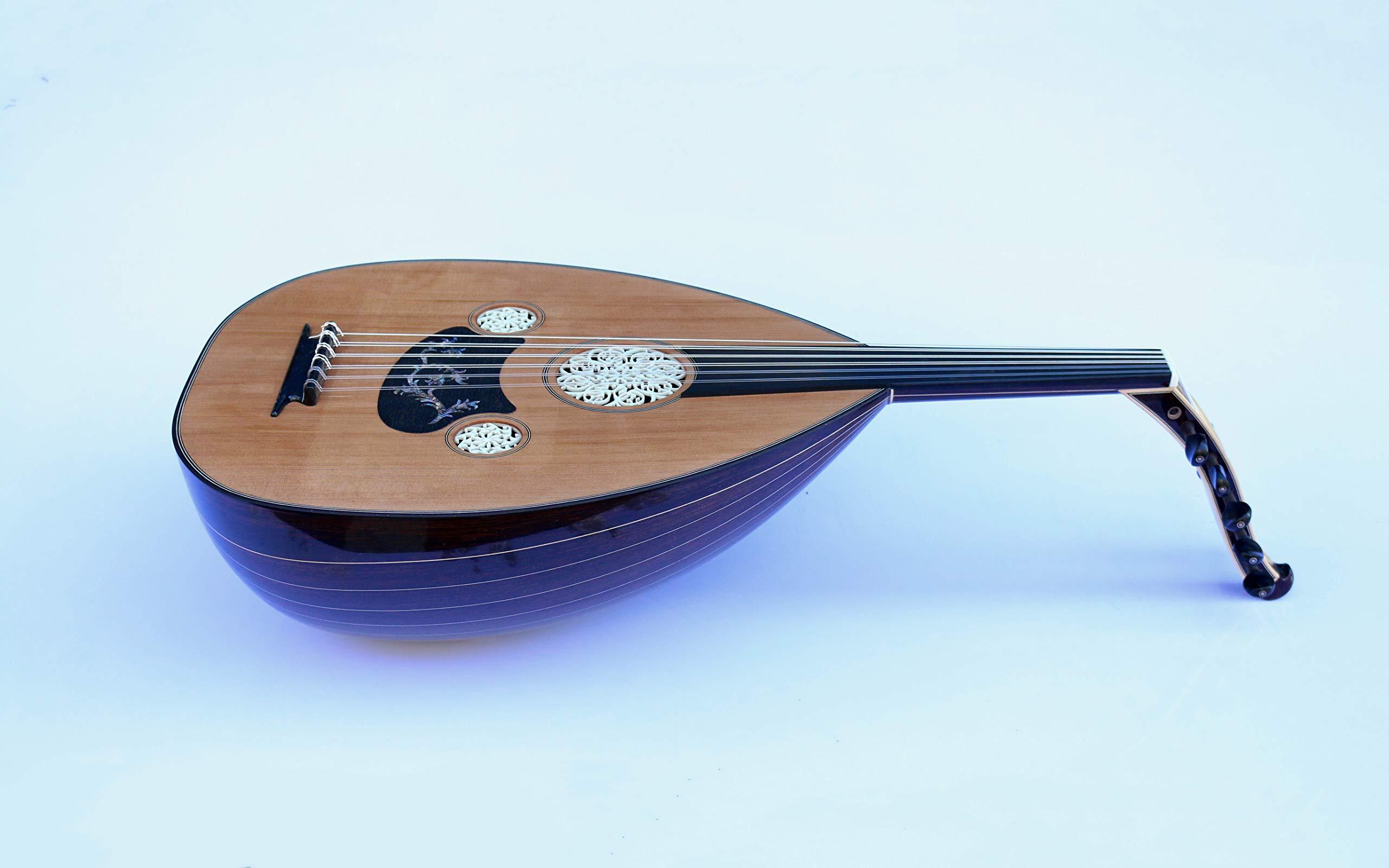 Premium Turkish Oud SALA-O8 | Oud String Musical Instrument Ud Aoud