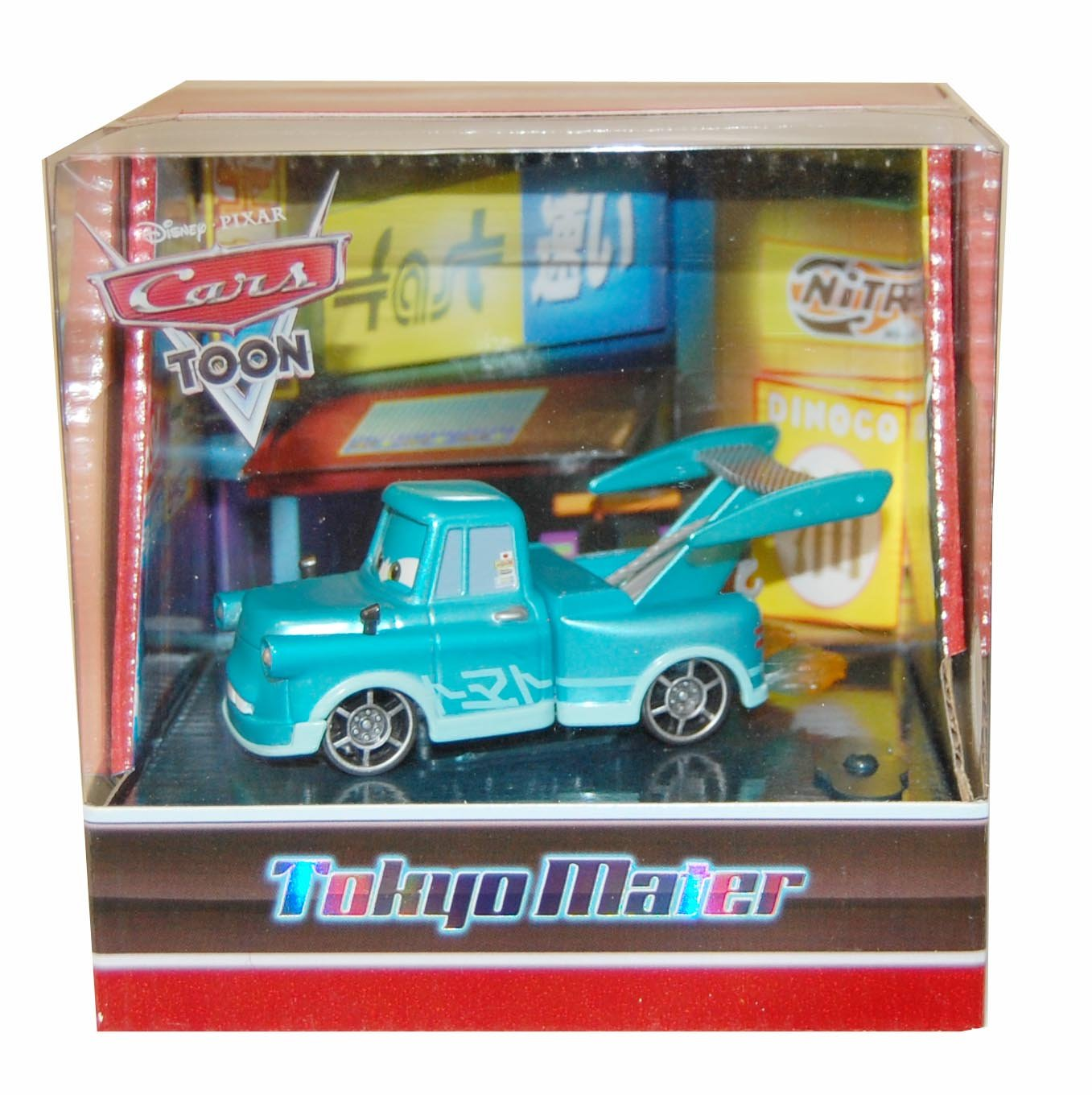 Mattel Disney Pixar Cars Toon 2010 Sdcc San Diego Tomica Series Dream Star 5th Anniversary Comiccon Exclusive Tokyo Toys Games