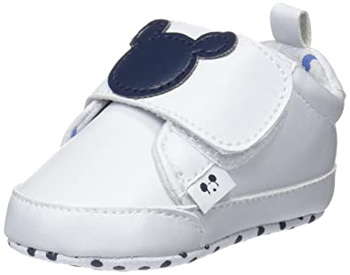 économiser ca6f1 4b98d Zippy Chaussures de Naissance bébé Garçon, Blanc (White ...