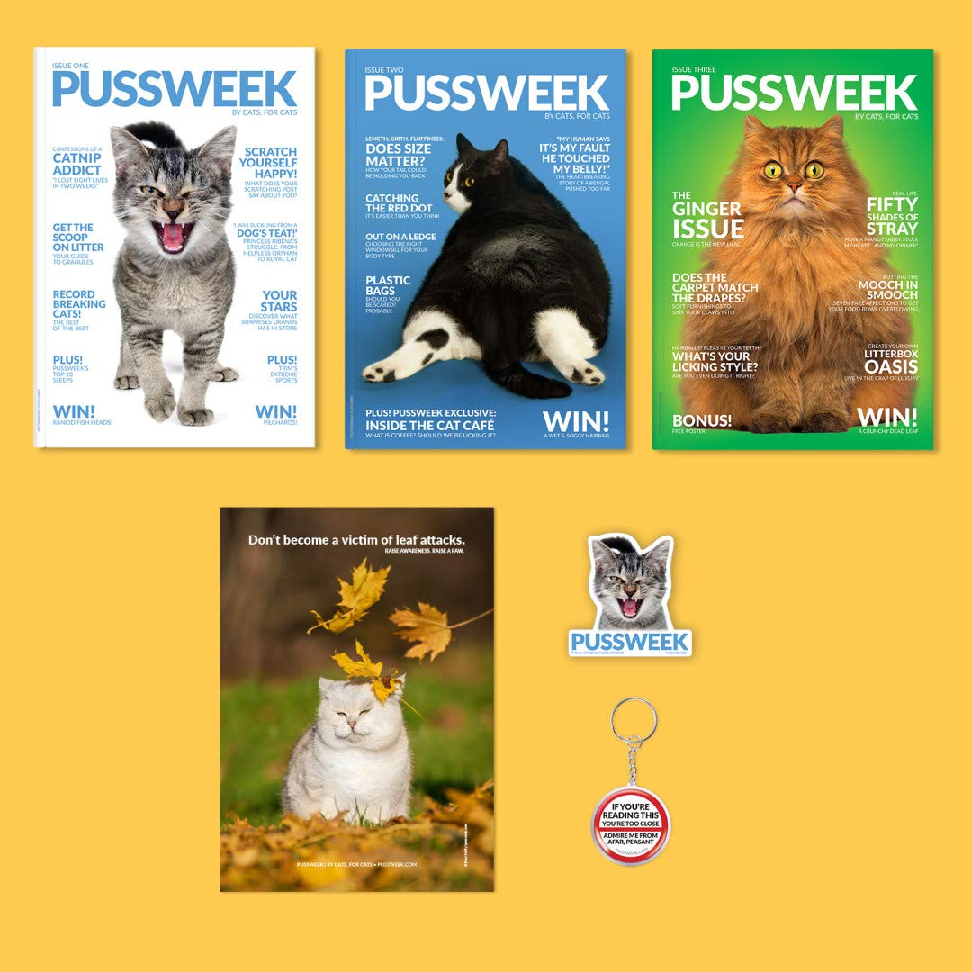 Pussweek Deluxe Autumn Pack by Pussweek by Cats, for Cats