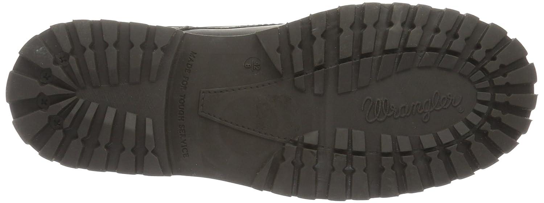 Wrangler Yuma, Zapatillas de Estar por Casa para Hombre, Gris (56 DK. Grey), 40 EU