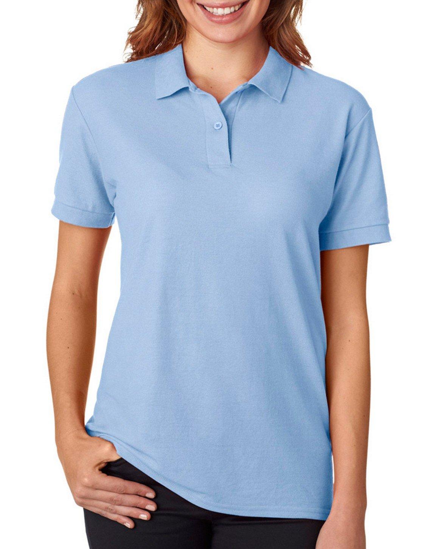 Gildan Womens DryBlend 6.3 oz. Double Piqué Sport Shirt G728L -LIGHT BLUE 2XL