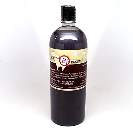 Yeguada La Reserva Shampoo de Caballo Negro (1 liter Bottle) - All Natural -