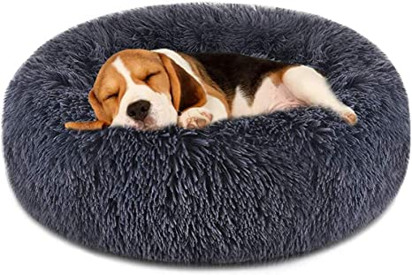 FOCUSPET Dog Bed Cat Bed Donut