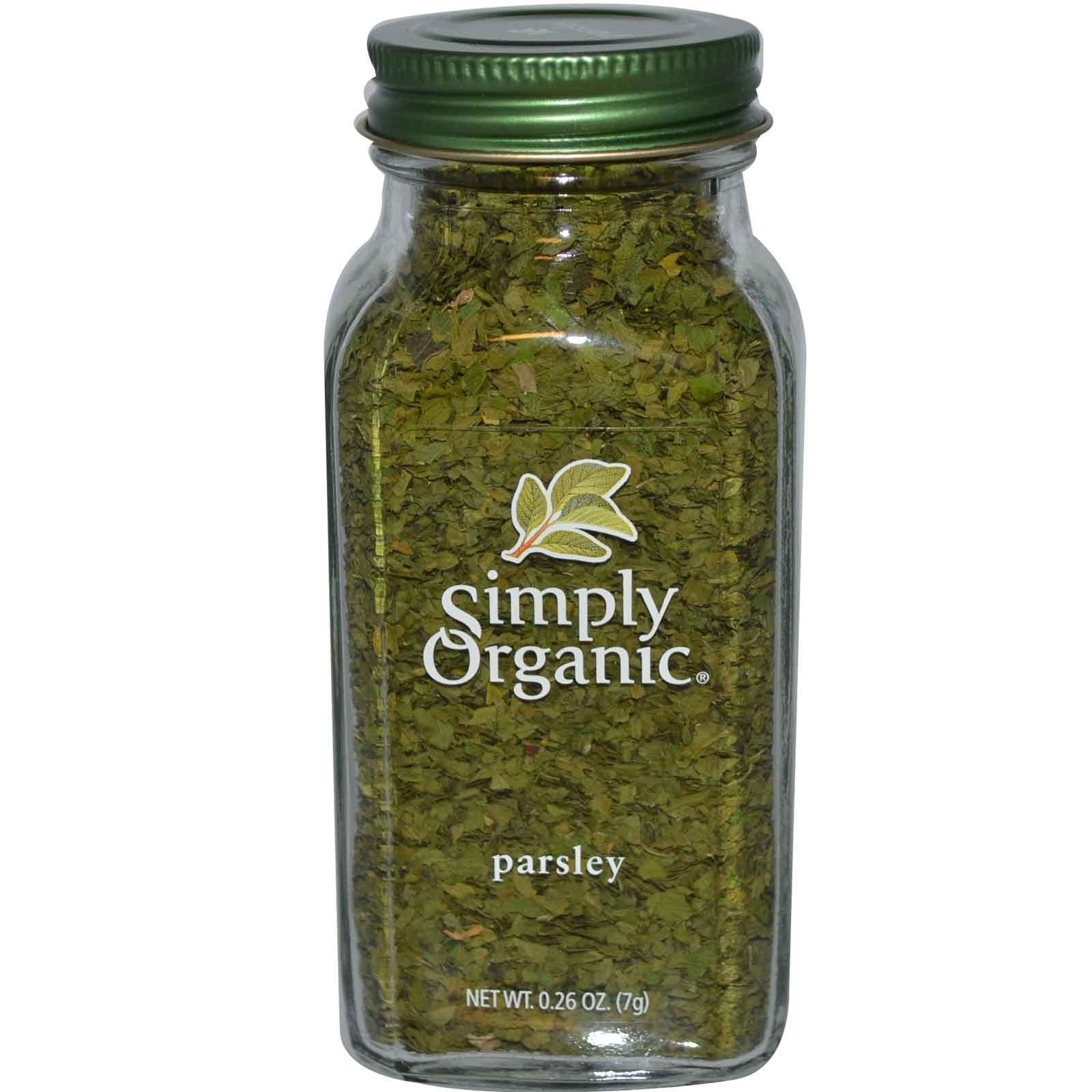 Simply Organic, Parsley, 0.26 oz(Pack of 3) by Simply Organic (Image #1)