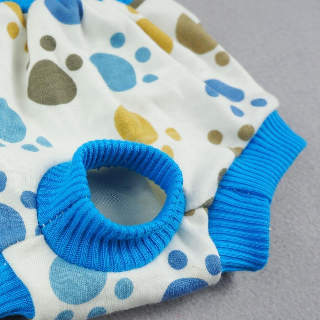 Amazon.com : Fitwarm Pet Cute Paws Sanitary Pants Dog Diaper ...