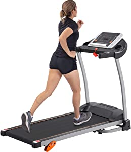 Easy Folding Treadmill for Home Use,with Device Holder, Heartbeat Sensor and 3-Level Incline 1.5HP Electric Treadmill Jogging Machine Easy Assembly Electric Treadmills , 12 Programs with Speakers