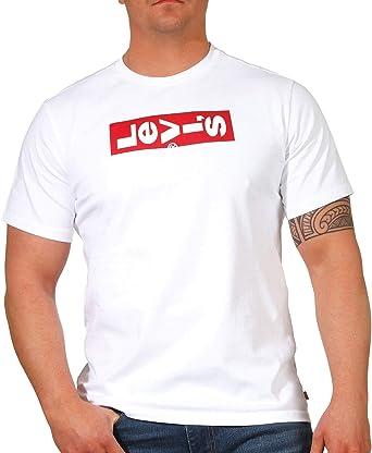 Camiseta Levis Oversized BW Negro para Hombre: Amazon.es: Ropa y accesorios