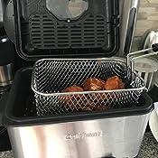 Amazon.com: Cuisinart CDF-100 Compact 1.1-Liter Deep Fryer