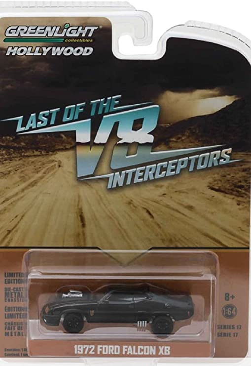Greenlight Hollywood Limited Edition Mad Max The Last of the V8 Interceptors 1972 Ford Falcon XB