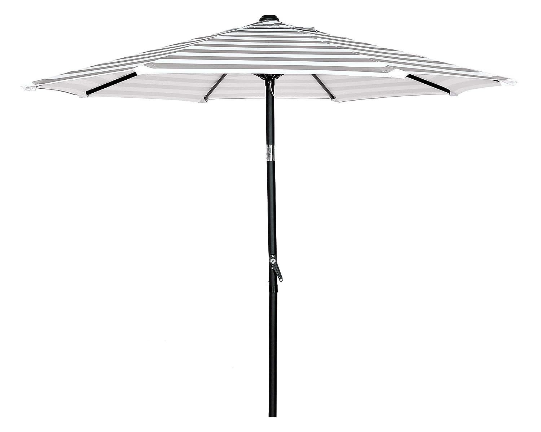 HERMO ROUN - Sombrilla para mesa de patio o jardín con 8 varillas ...