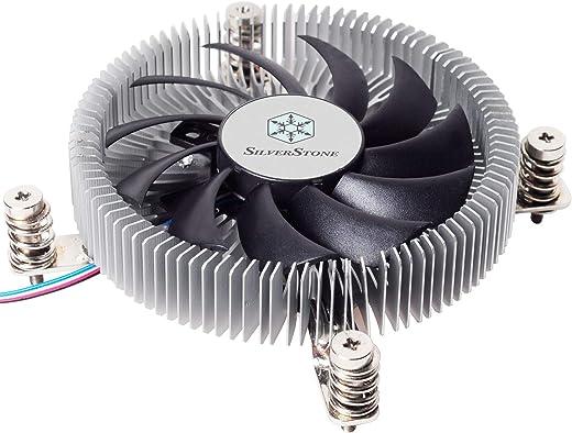 مبرد وحدة المعالجة المركزية SST-NT07-115X-USA LGA1150/1151/1155/1156 بطول 23 مم لدعم 65 وات TDP مع مروحة PWM 80 مم SST-NT07-115X