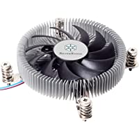 SilverStone Technology SST-NT07-115X-USA LGA1150/1151/1155/1156 CPU Cooler Low Profile 23mm Tall for 65W TDP Support…