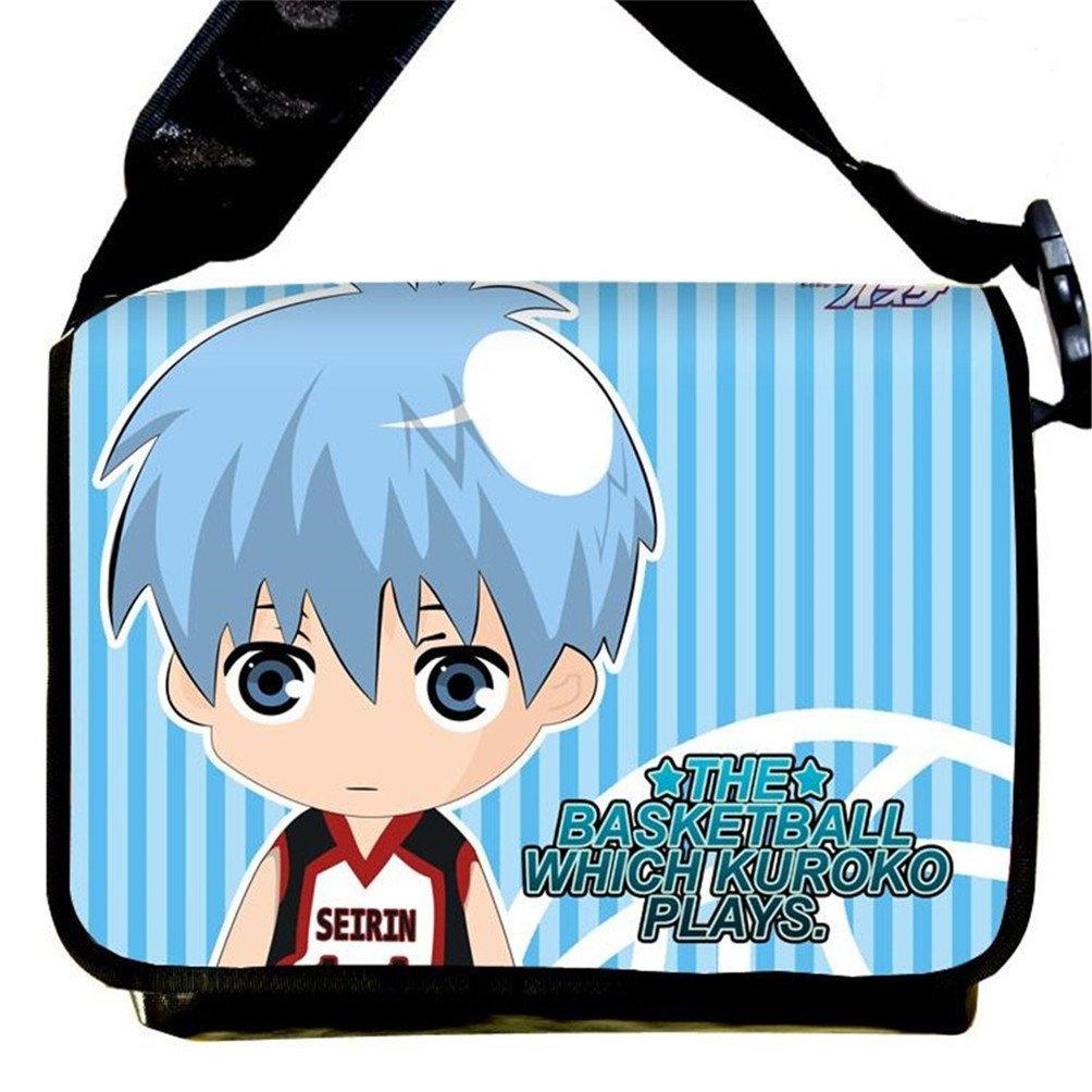 Siawasey Kuroko no Basket Anime Kuroko Tetsuya Messenger Bag Shoulder Bag
