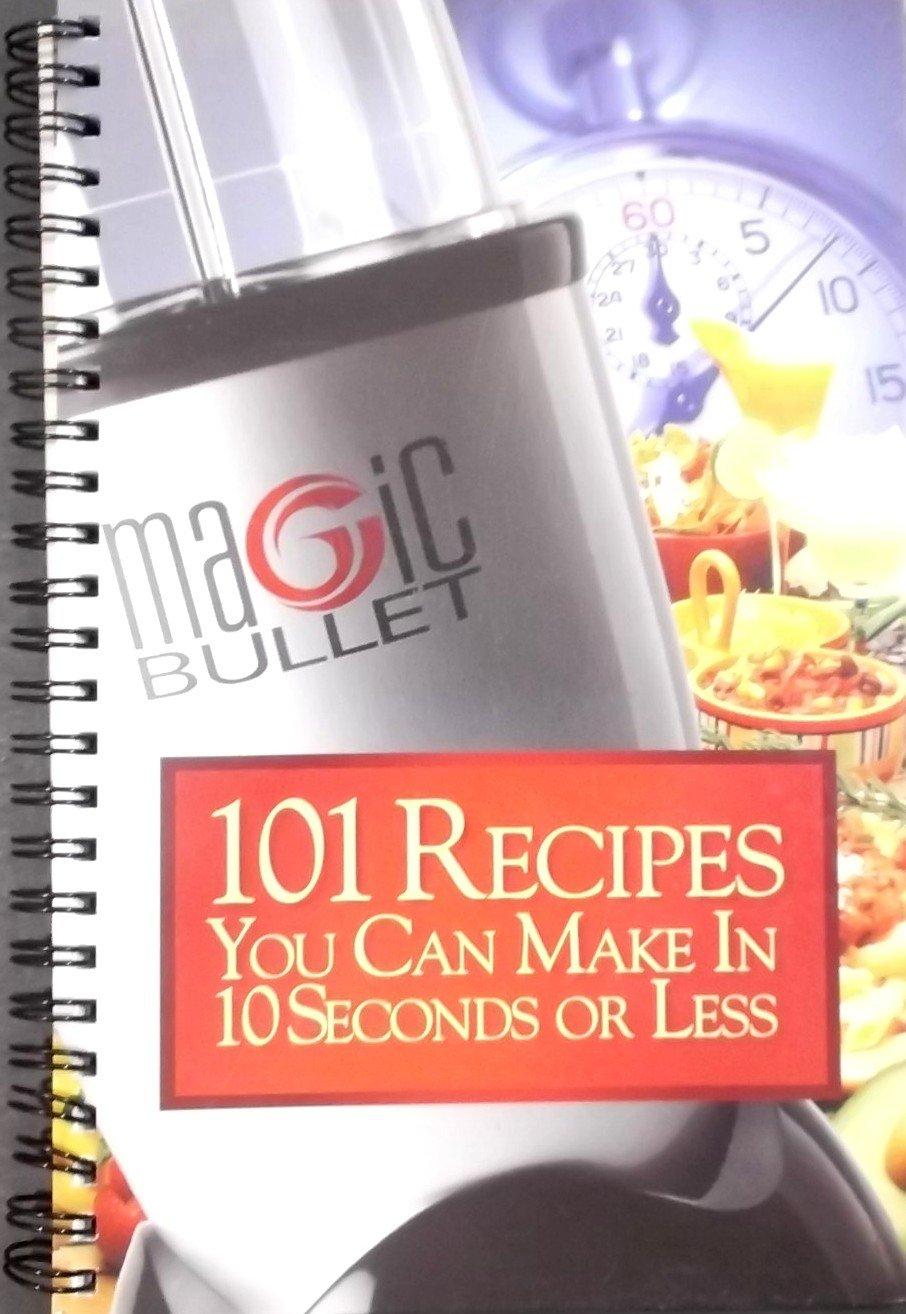 magic bullet 10 second recipe book free download
