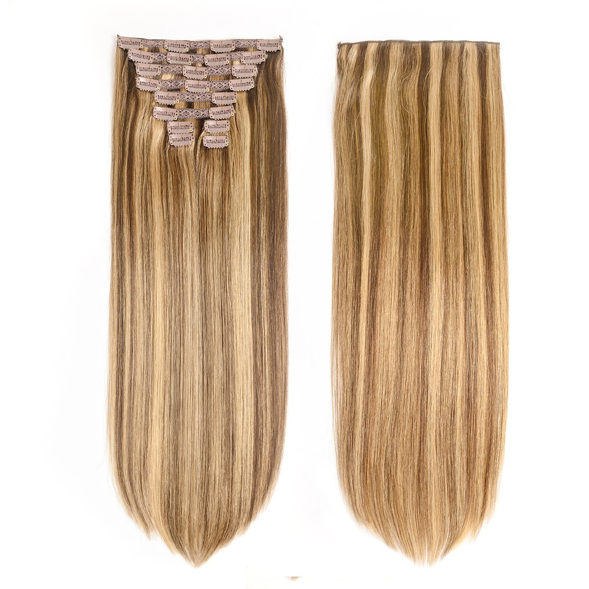 Hair Extensions Storage Bag With Wooden Hanger Carrier Case