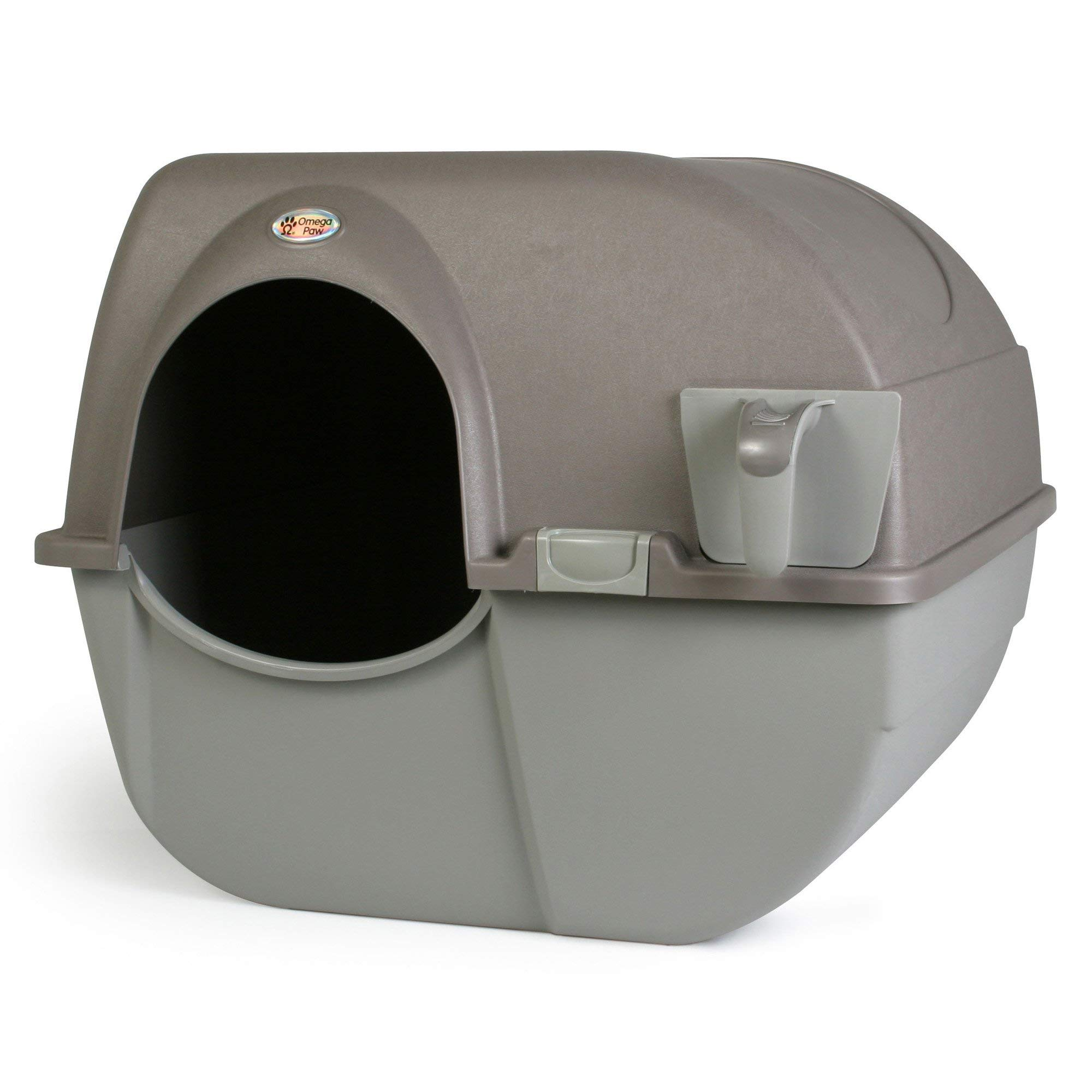 Omega Paw Self-Cleaning Litter Box, Large by Omega Paw