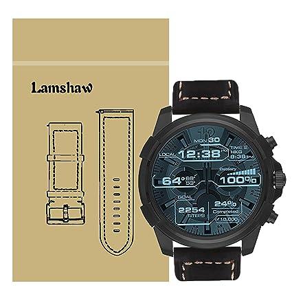 Amazon.com: Para Diesel Smartwatch de banda, lamshaw Premium ...