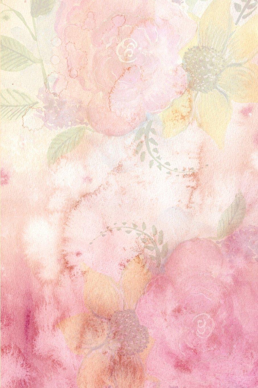 Pink Watercolor Flowers Journal: (Blank Book, Notebook, Diary) (Volume 1) pdf