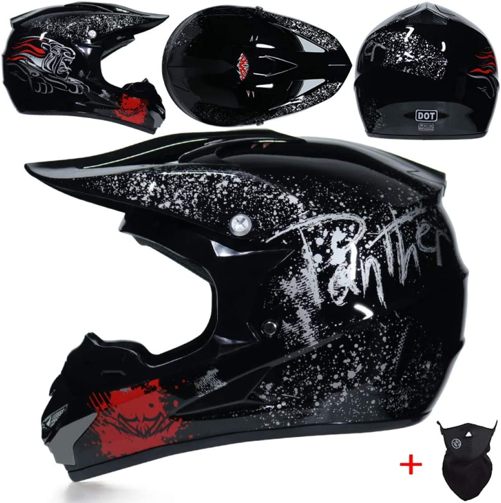 OLEEKA Motorradhelm Motocross Helm Downhill Schutzausr/üstung Cross Country Typ ABS Fahrradhelm Skateboard Riding Bikes