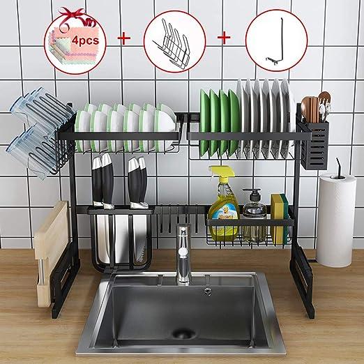 Amazon.com: space saving dish drying rack, extra large dish drying