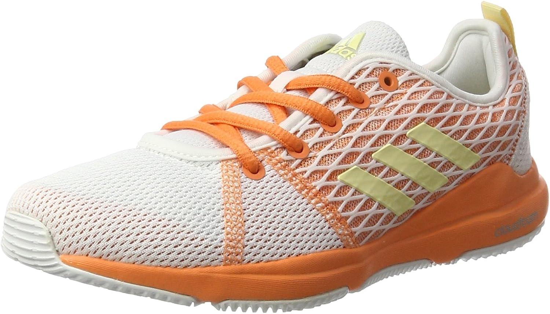 adidas Arianna Cloudfoam - BA8744 - Color White-Orange - Size: 7.0 ...
