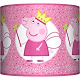 George peppa pig ceiling lampshade 10 drum boys bedroom lamp peppa pig lampshade 10 drum girls pink princess bedroom ceiling lamp shade aloadofball Image collections