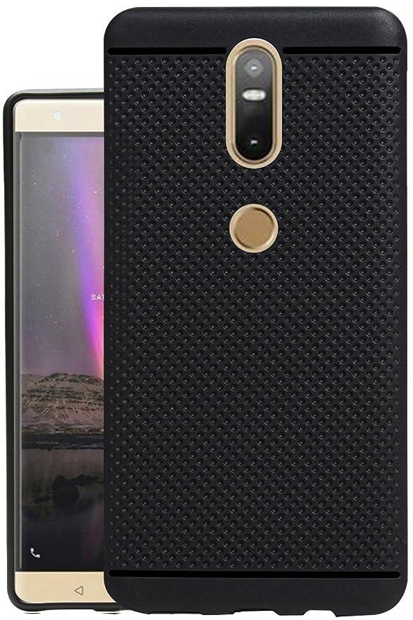 Jkobi reg; 360* Protection Dotted Designed Soft Rubberised Back Case Cover for Lenovo Phab 2 Plus  Black Cases   Covers