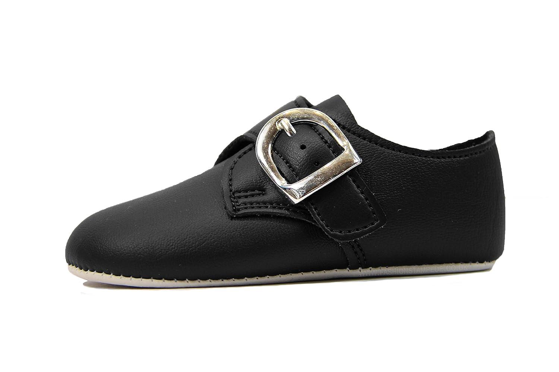 b1104545316be Baby Boys Soft Sole Christening shoes sizes 0 to 4 UK Black, White, Ivory:  Amazon.co.uk: Clothing