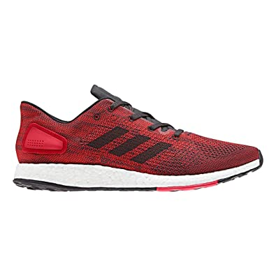 38d5d1789 Adidas Pureboost DPR Shoe Men s Running 7.5 Hi Res Red-Core Black ...