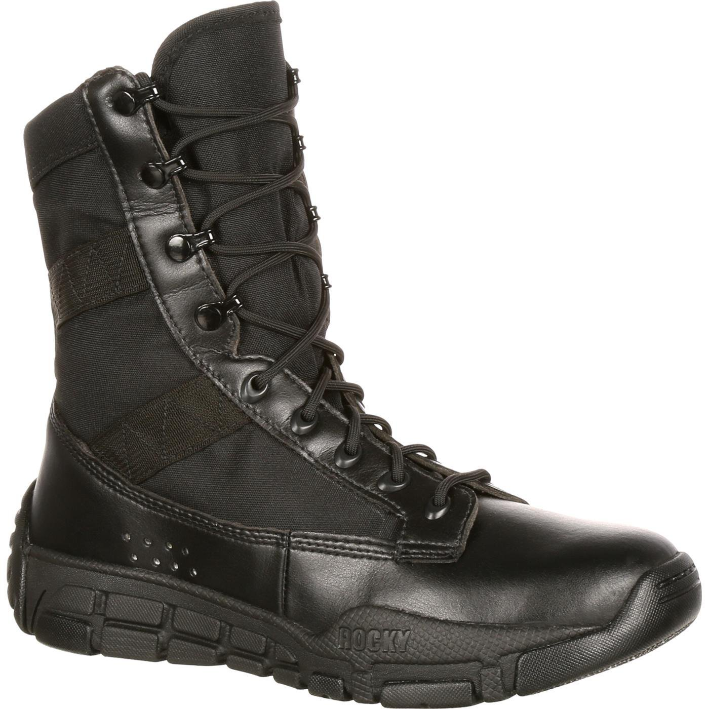 Rocky Men's RY008 Boot, Black, 9 M US