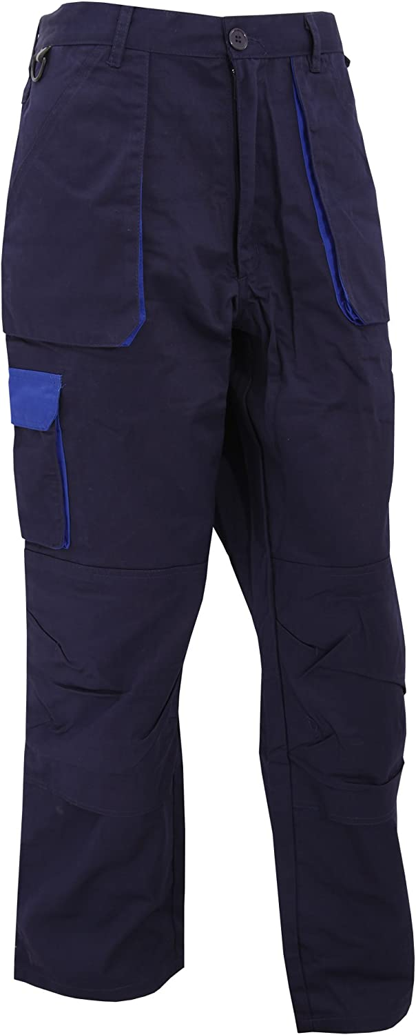 Portwest TX11 - Pantalones de contraste, color Armada, talla Medium