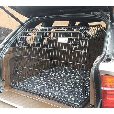 Pet World UK COMPATIBLE JAULA PARA PERROS PARA EL COCHE PARA BMW ...