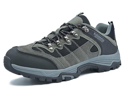 Knixmax Zapatillas de Trekking para Hombres Mujeres,Zapatillas de Montaña Deportivo Calzado de Trekking Escalada Outdoor Calzado Impermeable Antideslizantes ...