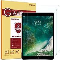 [2 Pezzi] OMOTON iPad 9.7 Pellicola Protettiva in Vetro Temperato per il nuovo iPad 9.7 2017/2018, iPad Pro 9.7 / iPad Air / iPad Air 2 - Bordi Arrotondati 2.5D - Anti-graffi - Durezza 9H