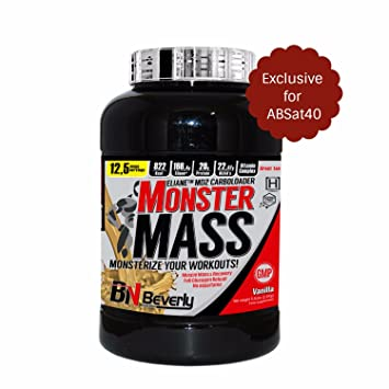 Beverly Nutrition Exclusive Monster Mass Weight Gain Powder ...