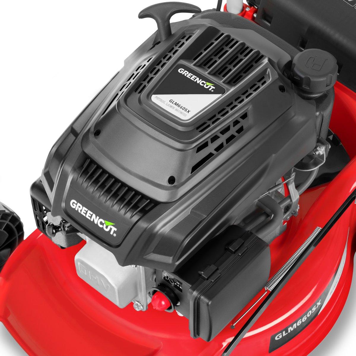 Greencut GLM660SX - Cortacésped con tracción manual con motor de ...