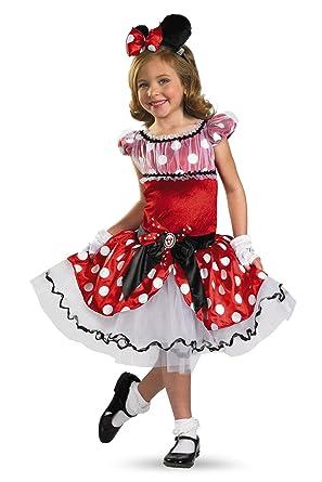 Disguise Girlu0027s Disney Red Minnie Mouse Tutu Prestige Costume ...  sc 1 st  Amazon.com & Amazon.com: Little Girlsu0027 Red Minnie Tutu Prestige: Toys u0026 Games