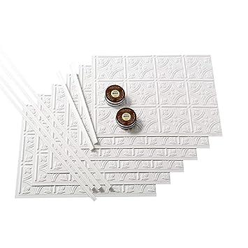 Amazon.com: Panel Fasade contra salpicaduras para cocina y ...